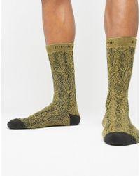 RIPNDIP - Ripndip Safari Socks In Green - Lyst