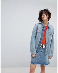 HUGO - Unisex 90's Denim Jacket - Lyst