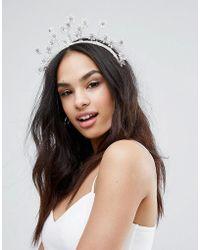 LoveRocks London - Races Day Pearl Flower Crown - Lyst