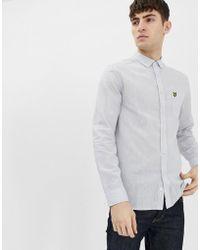 Lyle & Scott - Ls Cotton Linen Shirt - Lyst
