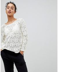 See U Soon - Lace Blouse - Lyst