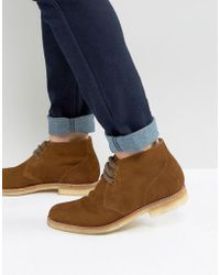 Grenson - Oscar Short Lace Up Boots - Lyst