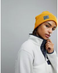 The North Face - North Face Beanie In Yellow - Lyst