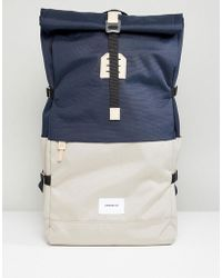 Sandqvist - Bernt Backpack With Rolltop - Lyst