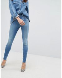 J Brand - Maria High Rise Skinny Jeans - Lyst