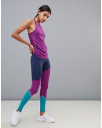 Esprit - Colour Block Gym Leggings - Lyst
