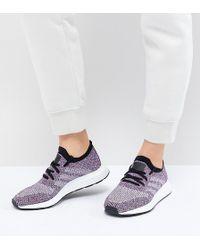 5a9483dbb Lyst - adidas Originals Black Print Primeknit Tubular Sneakers in Black