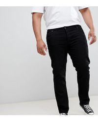 Lyle & Scott - Slim Fit Jeans In Black - Lyst