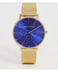 912d69df3054 Armani Exchange - Reloj de malla de 36 mm AX  0   Lola