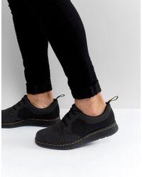 Dr. Martens - Lite Cavendish Knit 3 Eye Shoes - Lyst