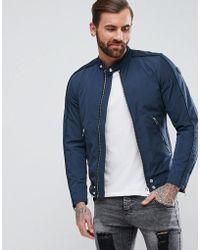 DIESEL - J-quad Nylon Biker Jacket - Lyst