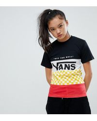 Vans - Exclusive Factory Team Heritage T-shirt - Lyst