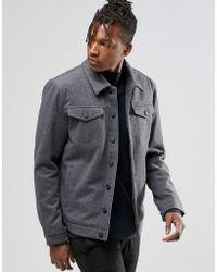 ADPT - Wool Jacket - Lyst