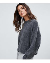 Micha Lounge - Luxe Boxy Jumper In Mohair Blend - Lyst