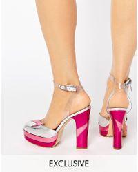Terry De Havilland - Direction Pink Heeled Shoes - Lyst