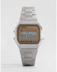 G-Shock - Classic Retro Digital Watch A158wea-9ef - Lyst