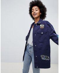 ASOS DESIGN - Badge Jacket - Lyst
