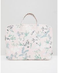 New Look - 15'' Floral Print Laptop Case - Lyst