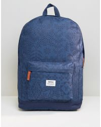 Wesc | Chaz Patterned Backpack | Lyst