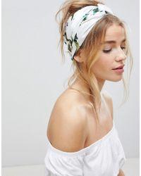 ASOS - Tropical Twist Block Headscarf - Lyst