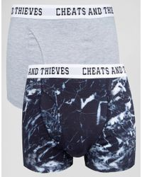 Cheats & Thieves - 2 Pack Trunks - Lyst