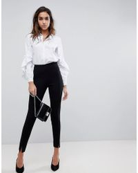 Missguided - Skinny Fit Cigarette Trousers - Lyst