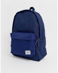 888d6af84d1 Lyst - Herschel Supply Co. Classic Backpack In Crosshatch in Gray ...