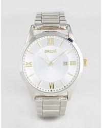 Breda - Silver Dial Watch - Lyst