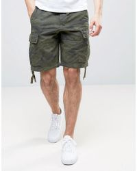 Abercrombie & Fitch Cargo Short In Camo