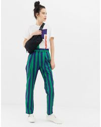 Daisy Street - Peg Trousers In Stripe - Lyst