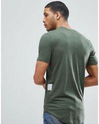 Jack & Jones - Core Longline T-shirt - Lyst