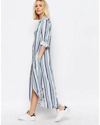ADPT - Dpt Maxi Shirt Dress - Lyst
