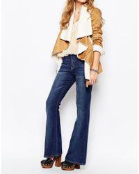 Somedays Lovin | Lovin Stretch Flare Jeans In Indigo | Lyst