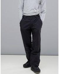 c0c167609930 Granted Contrast Cargo Pants In Black in Black for Men - Lyst