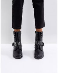 ALDO - Realove Buckle Ankle Boots - Lyst
