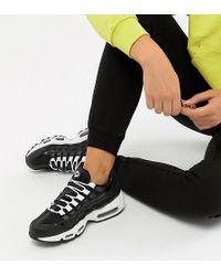 6709f379ad Nike Black Air Max 95 Sneakers in Black - Lyst