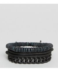 ALDO | Chain & Bead Bracelets In 4 Pack | Lyst