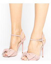 Office - Scarlett Knot Heeled Sandals - Lyst