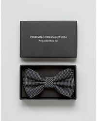 French Connection - Bow Tie - Lyst