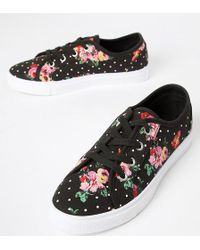 ASOS - Daisy Lace Up Sneakers - Lyst
