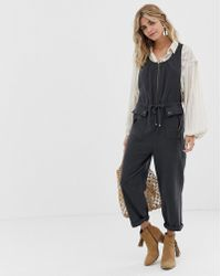 Free People - Lovely Desert Boiler Jumpsuit - Lyst