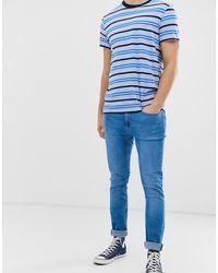 Burton Skinny Jeans In Hyper Blue