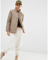 Daisy Street | Lightweight Jacket With Contrast Lining & Zip Detail | Lyst