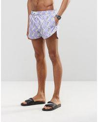 Abuze London - Nuh Answa Short Swim Shorts - Lyst