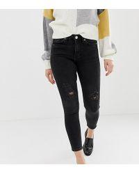 Miss Selfridge - Lizzie Skinny Jeans In Black - Lyst
