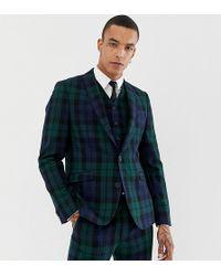 995c0c847c287 Lyst - BOSS Nemir Plaid Blackwatch Regular Fit Tuxedo Jacket in ...