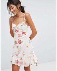 Bershka   Floral Printed Cami Dress   Lyst
