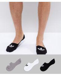 Adidas Originals | No Show Socks In Black Cv5942 | Lyst