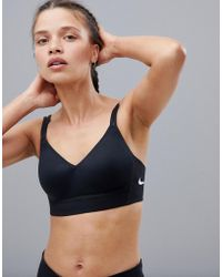 Nike - Indy Breathe Bra In Black - Lyst