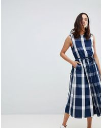 Kowtow - Dance With Me Organic Cotton Pinafore Dress - Lyst